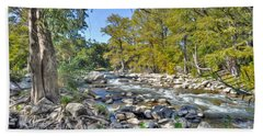 Guadalupe River Hand Towel