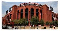 Busch Stadium - St. Louis Cardinals Bath Towel