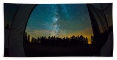 Camping Under The Stars Bath Towel