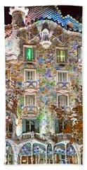 Casa Batllo - Barcelona Bath Towel