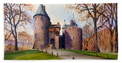 Castell Coch  Hand Towel