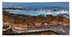 Bath Towel featuring the photograph Castillo San Felipe Del Morro by Olga Hamilton