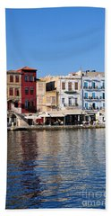 Chania City Bath Towel