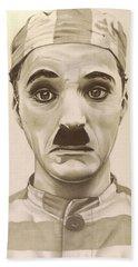 Vintage Charlie Chaplin Hand Towel