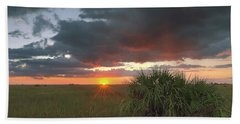 Chekili Sunset Bath Towel