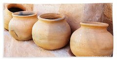 Clay Pots Hand Towel