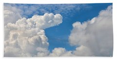 Clouds In The Sky Bath Towel