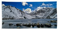 Convict Lake Hand Towel