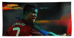 Cristiano Ronaldo Hand Towel