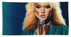 Deborah Harry Or Blondie Painting Bath Towel
