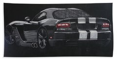 Dodge Viper 1 Bath Towel
