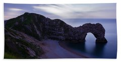 Durdle Door At Dusk Bath Towel