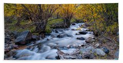 Fall At Big Pine Creek Bath Towel