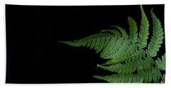 Bath Towel featuring the photograph Fern II by Alana Ranney
