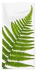 Fern Leaf Bath Towel