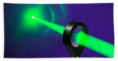 Focusing Laser Light Hand Towel