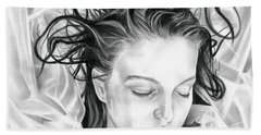 Forget Me Not - Laura Palmer - Twin Peaks Hand Towel