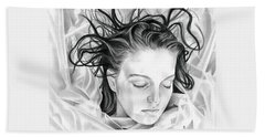 Forget Me Not - Laura Palmer - Twin Peaks Hand Towel by Fred Larucci