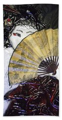 Geisha Girl Bath Towel