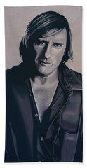 Gerard Depardieu Painting Hand Towel