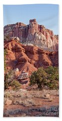 Golden Throne Capitol Reef National Park Hand Towel