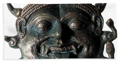 Gorgon Legendary Creature Hand Towel by Photo Researchers