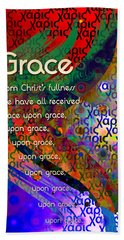 Grace Hand Towel by Chuck Mountain