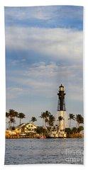 Hillsboro Inlet Lighthouse Hand Towel
