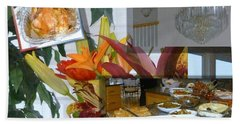 Holiday Collage Hand Towel