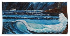 Hope  Bath Towel by Patricia Olson