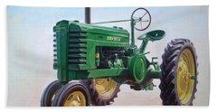 John Deere Tractor Bath Towel