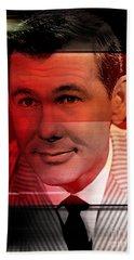 Johnny Carson Hand Towel by Marvin Blaine