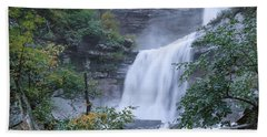 Kaaterskill Falls Square Hand Towel by Bill Wakeley
