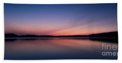 Lake Lanier After Sunset Hand Towel