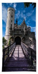 Lichtenstein Castle - Baden-wurttemberg - Germany Hand Towel