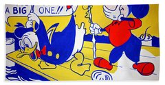 Lichtenstein's Look Mickey Bath Towel by Cora Wandel