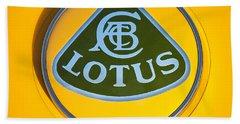 Lotus Emblem Bath Towel