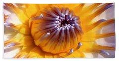 Lotus Lily Hand Towel by Jocelyn Kahawai