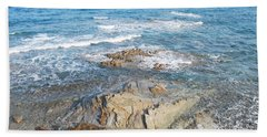 Hand Towel featuring the photograph Low Tide by George Katechis