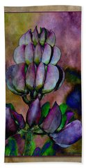 Lupin Blossom Bath Towel by WB Johnston