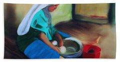 Making Bread Bath Towel