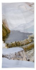 Mammoth Terraces Bath Towel