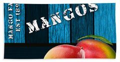Mango Farm Sign Hand Towel
