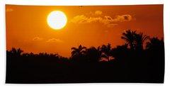 Marco Island Sunset Hand Towel