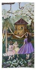 Mayday Serenade  Hand Towel by Linda Simon