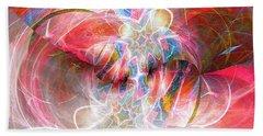 Bath Towel featuring the digital art Metamorphosis  by Margie Chapman