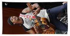 Michael Franti And Spearhead Hand Towel