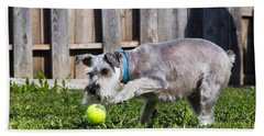Miniature Schnauzer Bath Towel
