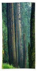 Northwest Forest    Bath Towel by Mary Lee Dereske