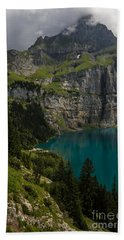 Oeschinensee - Swiss Alps - Switzerland Hand Towel